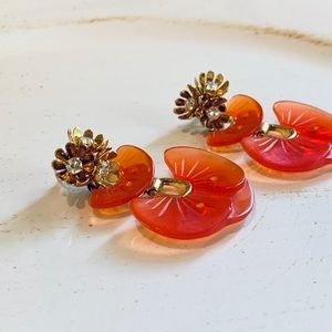 Lele Sadoughi Petal Drop Earrings